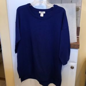 NWT royal blue knit sweater